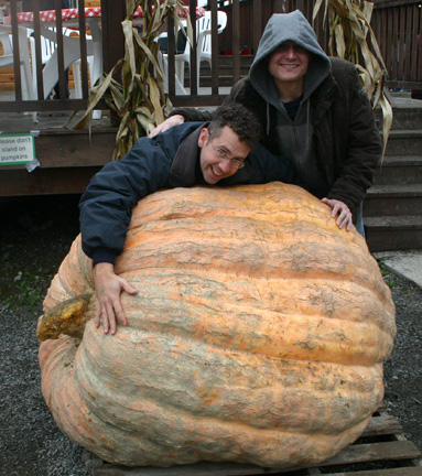 Ben Starr Giant Pumpkin Signature Ingredient