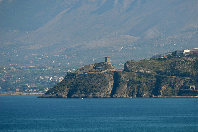 Seaside Castle in Sicily