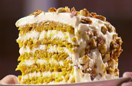 Ben Starr's Pumpkin Carrot Cake on MasterChef season 2