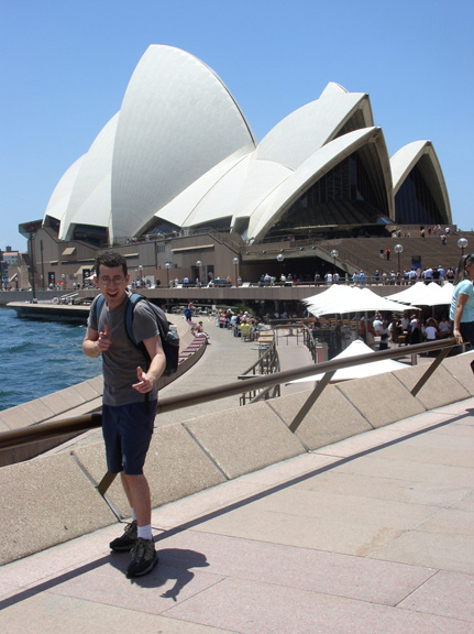 Ben Starr in Australia