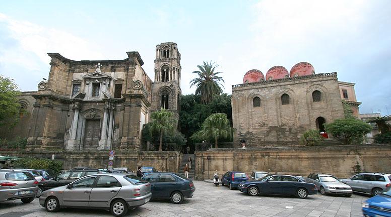 San Cataldo, La Martorana, Palermo