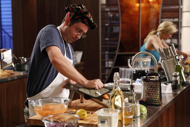 Ben Starr cooks for Gordon Ramsay on MasterChef season 2