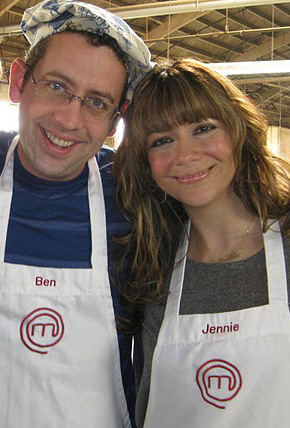 Ben Starr and Jennie Kelley from MasterChef season 2