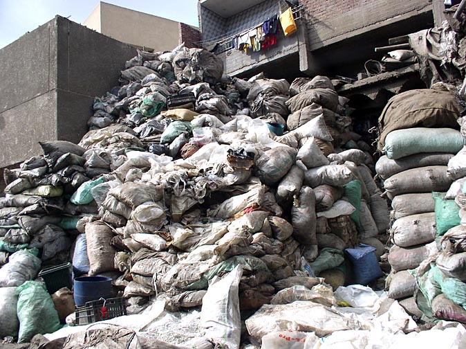 Moqattam, the Garbage City of Cairo