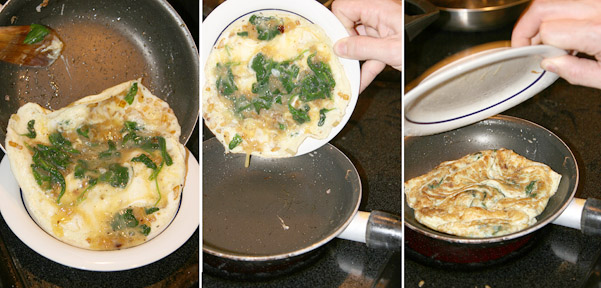 How to Flip an Omelet