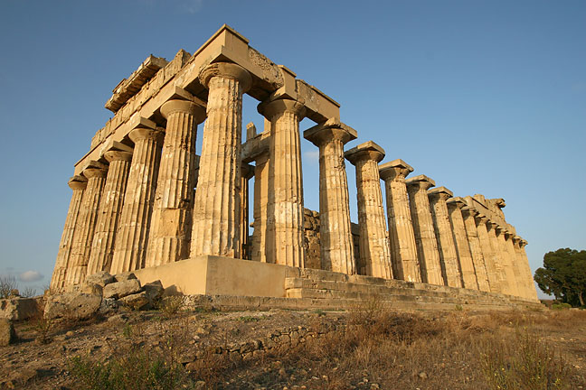 The Greek temple at Seliunte