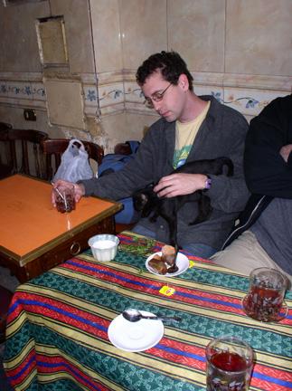 Having Tea in Cairo