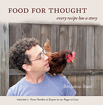 Ben Starr's first cookbook
