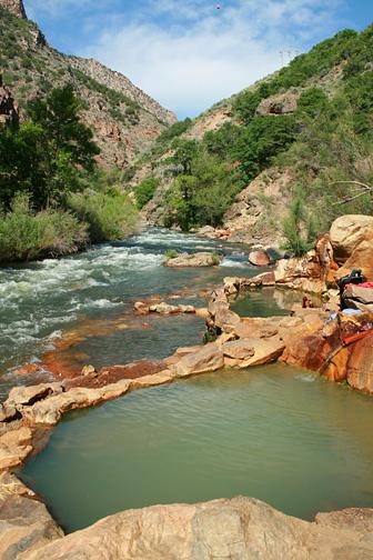 Ogden hot spring