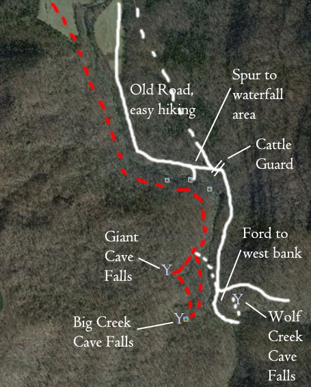 Big Creek Cave Falls…the EASY way! | Have YOU Ben Starr Struck?