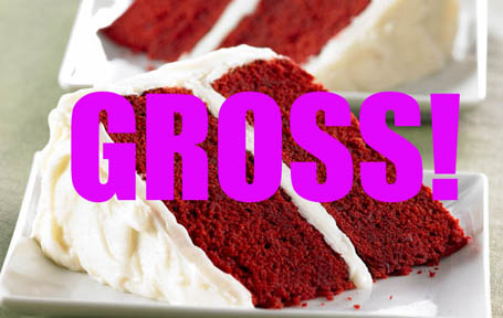 What natural food coloring can be used in red velvet cake